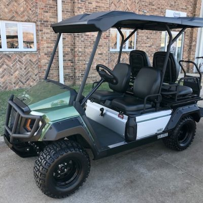 2019 Umax Rally Forest Green Golf Car