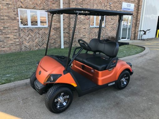 2020 Atomic Orange Golf Car