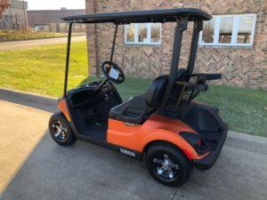 2020 Atomic Orange Golf Car