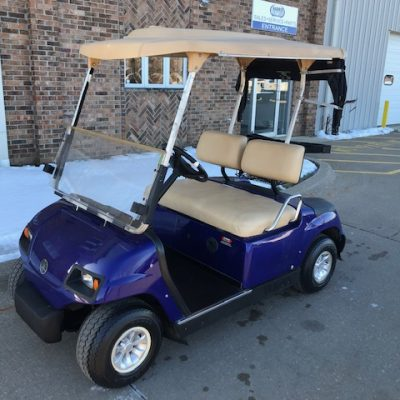 2004 Dark Blue Golf Car