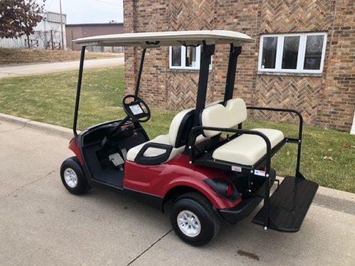2007 Garnet Burgundy Golf Car