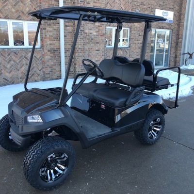 2010 Black Hvoac Golf Car