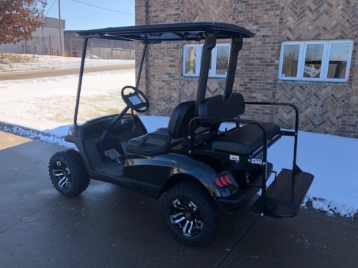 2010 Black Hvoac Golf Car