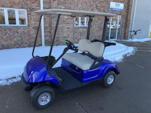 2010 Cobalt Blue Golf Car