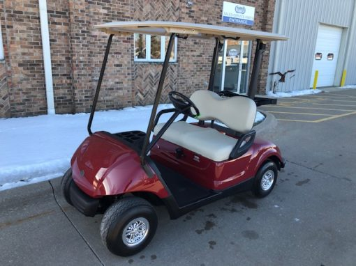 2010 Garnet Burgundy Golf Car