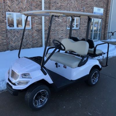 2010 White Hvoac Golf Car