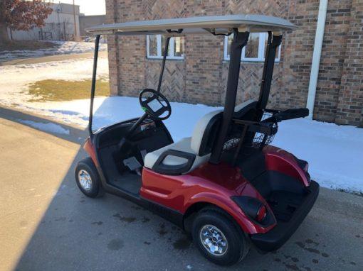 2010 Jasper Red Golf Car