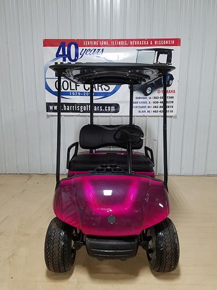 2010 Custom Pink Fade Golf Car