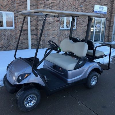 2010 Anthracite Silver Golf Car