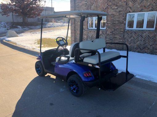 2011 Blue Hvoac Golf Car