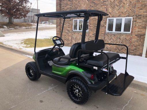2011 Custom Green and Black Golf Car