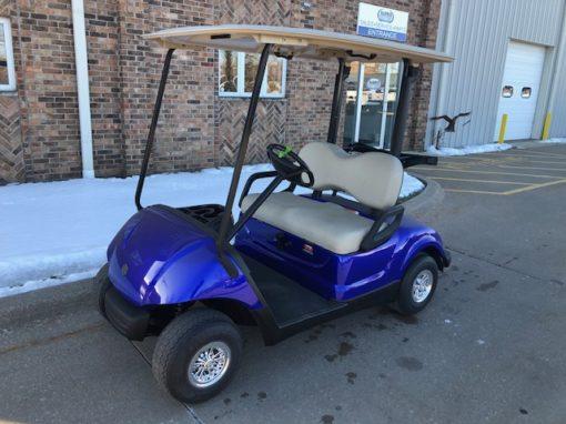 2012 Cobalt Blue Golf Car