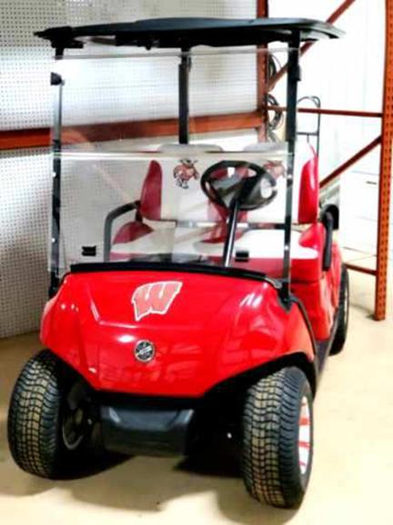 2017 Wisconsin Badger Golf Car