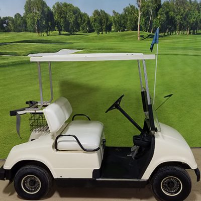 1992 G8 White Golf Car