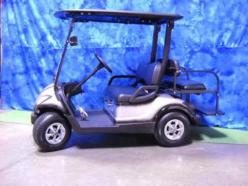 2009 Custom Black and Gray Golf Car