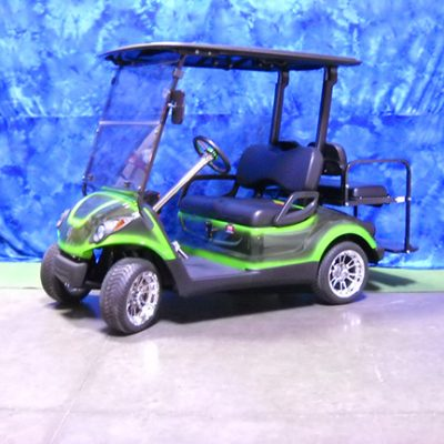 2009 Custom Green and Black Golf Car