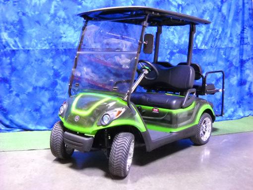 2009 Custom Green and Black Golf Car