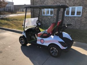 2011 Chicago Cubs Golf Car