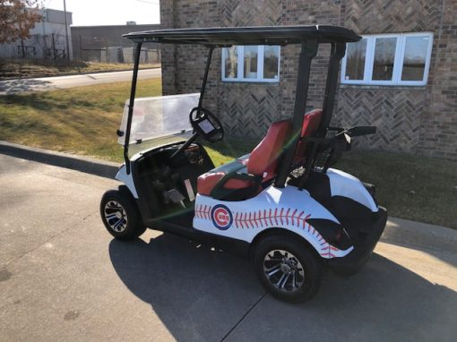 2011 Chicago Cubs Golf Car