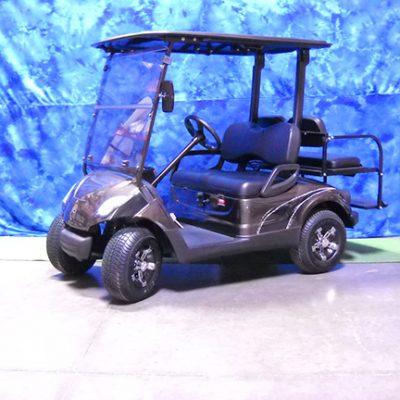 2011 Custom Black Golf Car