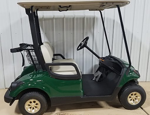 2011 Emerald Green Golf Car