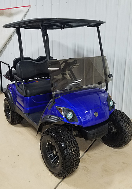 2014 Cobalt Blue Golf Car