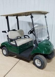 2015 Green Electric Golf Car