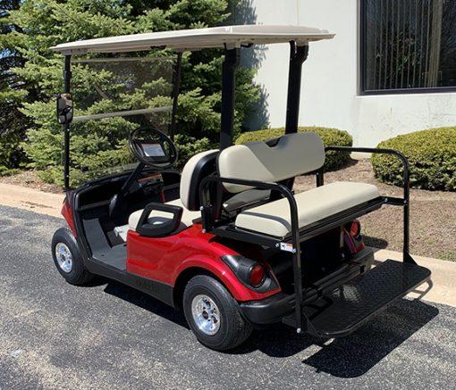 2012 Jasper Red Golf Car