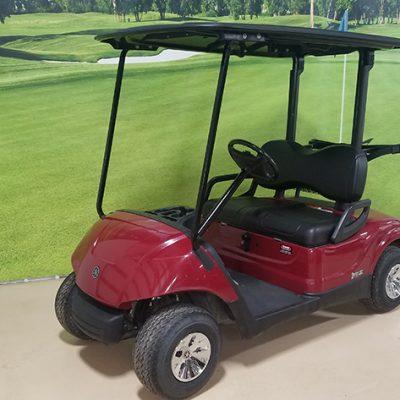 2016 Burgundy Golf Car