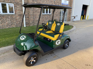 2009 Green Bay Packers Golf Car