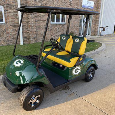 2009 Green Bay Packers Golf Car