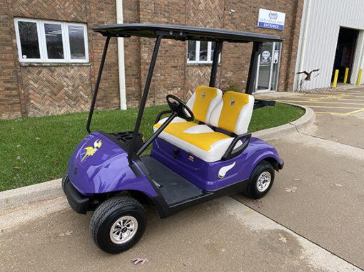 2009 Minnesota Vikings Golf Car