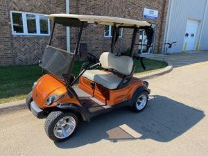 2011 Atomic Orange Golf Car