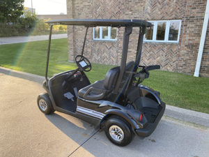 2011 Custom Black and Gray Golf Car