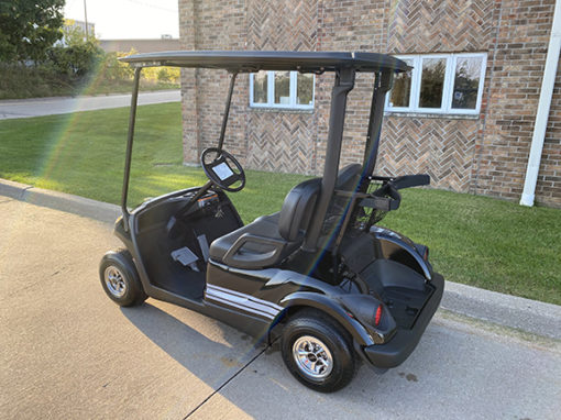 2011 Custom Black and Gray Golf Car
