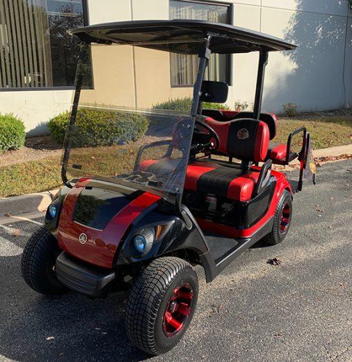 2011 Chicago Blackhawks Golf Car