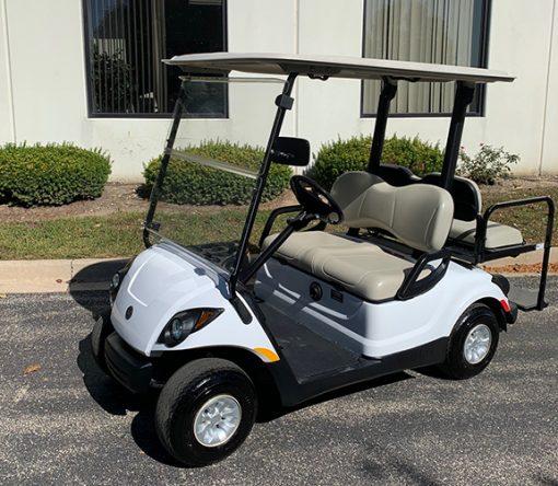 2011 White Golf Car