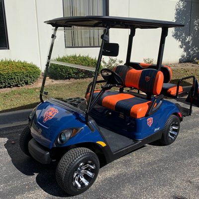 2013 Chicago Bears Golf Car