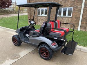 2013 Matte Gray Golf Car