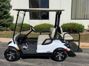 2015 Glacier White Golf Car
