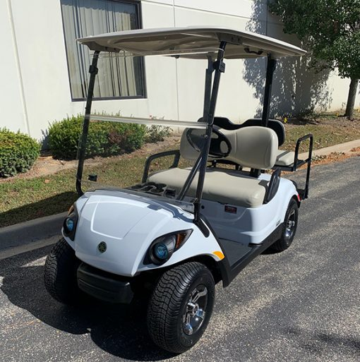 2015 Glacier White Golf Car