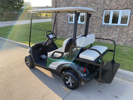 2016 Custom Green Golf Car