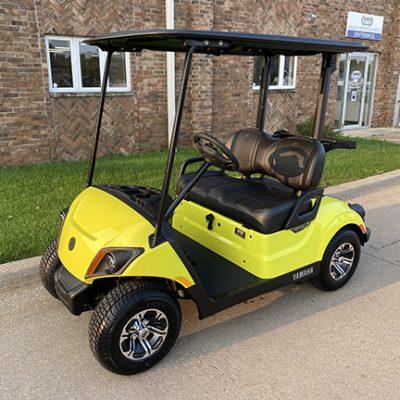 2021 Lime Yellow Golf Car