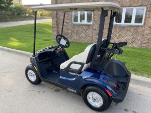 2021 Patriot Blue Golf Car