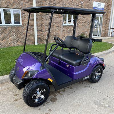 2021 Plum Golf Car