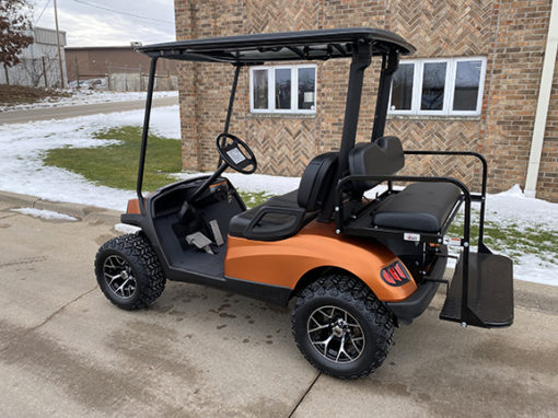 2011 Matte Orange Havoc Golf Car
