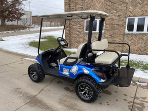 2012 Custom Blue and Gray Golf Car