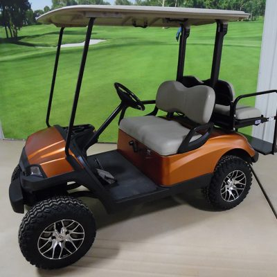 2013 Harvest Orange Golf Car
