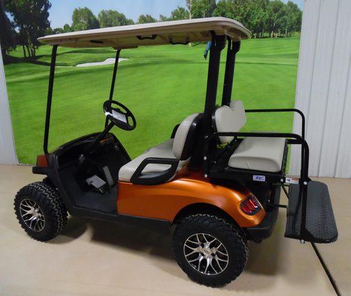 2013 Harvest Orange Golf Car