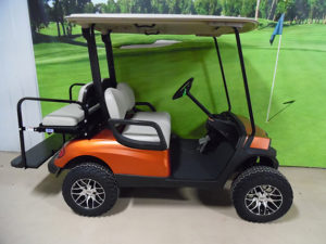 2013 Orange Golf Car